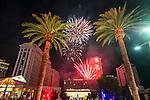 Caesars Palace 4th July 2016 Fireworks