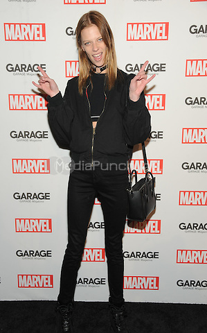 NEW YORK, NY - FEBRUARY 11: Lexi Boling attends the Marvel and Garage Magazine New York Fashion Week event on February 11, 2016 at Mercer Parking Garage in New York City.  Credit: John Palmer/MediaPunch