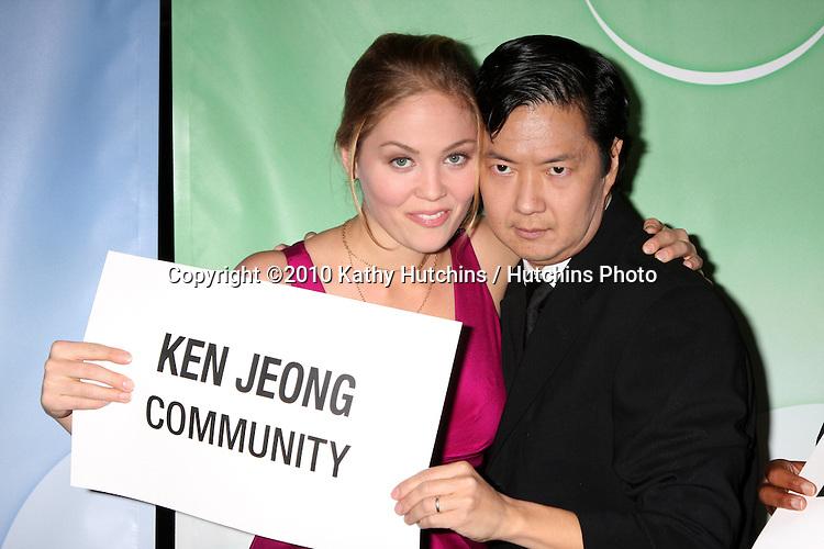 Erika Christensen, Ken Jeong.arriving at the 2010 Winter NBC TCA Party .Langford Hotel.Pasadena, CA.January 10, 2010.©2010 Kathy Hutchins / Hutchins Photo....