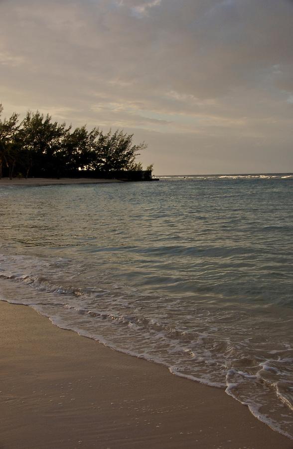 Beach at Dusk, in Montego Bay, Rose Hall, Half Moon Resort
