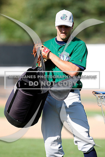 July 16, 2009:  Pitcher Patrick Lehman of the vermont Lake Monsters during a game at Russell Diethrick Park in Jamestown Jammers, NY.  The Lake Monsters are the NY-Penn League Short-Season Class-A affiliate of the Washington Nationals.  Photo By Mike Janes/Four Seam Images