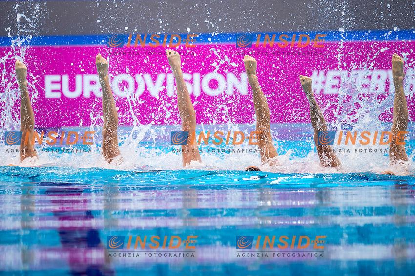 Team FRA France<br /> London, Queen Elizabeth II Olympic Park Pool <br /> LEN 2016 European Aquatics Elite Championships <br /> Team Technical final<br /> Day 01 09-05-2016<br /> Photo Giorgio Scala/Deepbluemedia/Insidefoto