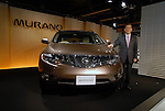 TOKYO - SEPTEMBER 9: Nissan Motor Corp released its luxury SUV Murano for the Japanese market. The company, which already released the new model in the United States in January, will sell the Murano in 170 countries. Nissan said it expects 900 units to be sold per month in Japan, targeting male customers in their 30s to 40s. The price range is 3,150,000 to 4,042,500 yen. (Photo by Taro Fujimoto/Japan Today/Nippon News)