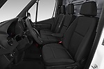 Front seat view of 2019 Mercedes Benz Sprinter - 2 Door Cargo Van Front Seat  car photos