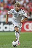 Fabio Coentrao - 27.07.2012 - Benfica / Real Madrid - Coupe Eusebio ..Photo : Carlos Rodrigues / Icon Sport....