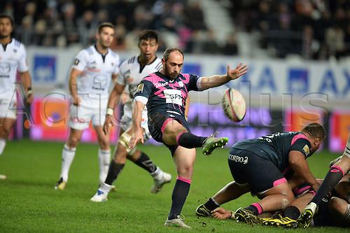 19.02.2016. Paris, France. Top 14 rugby union. Stade Francais versus Brive.  Julien Dupuy (stade)