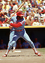 CIRCA 1972:  Dick Allen #15 of the Philadelphia Phillies at bat during a game from his 1972 season with the Philadelphia Phillies. Dick Allen played for 15 years with 5 different teams. He was 7-time All-Star and was the 1972 American League MVP.(Photo by: 1972 : SportPics : Dick Allen
