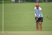 Carlota Ciganda (ESP) lines up her putt on 2 during round 3 of the 2018 KPMG Women's PGA Championship, Kemper Lakes Golf Club, at Kildeer, Illinois, USA. 6/30/2018.<br /> Picture: Golffile | Ken Murray<br /> <br /> All photo usage must carry mandatory copyright credit (&copy; Golffile | Ken Murray)