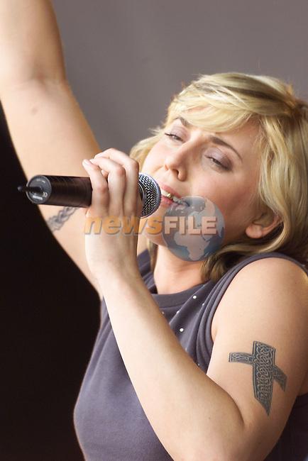 Mel C on stage at the Slane Concert at the Slane Concert.Picture:Fran Caffrey/Newsfile