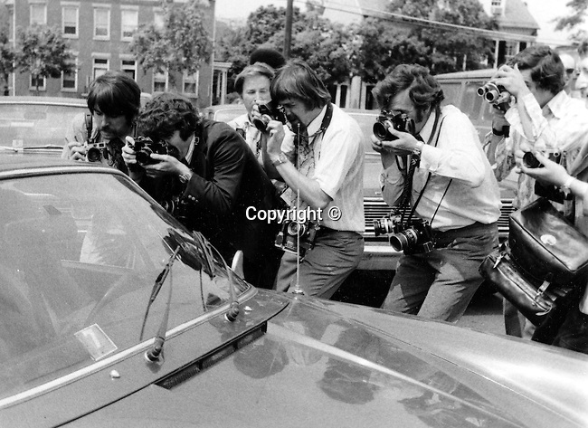 National Press Corps Photojournalist work Iran-Contra Oliver North in his car,  witness, National press Corps, Photographers, working photographers, Photog, White House Press Photographers, Press Photographers Washington D.C.,