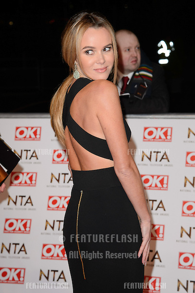 Amanda Holden arrives for the National TV Awards 2015 at the O2 Arena, Greenwich London. 21/01/2015 Picture by: Steve Vas / Featureflash