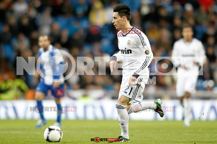Real Madrid's Jose Callejon during Spanish King's Cup match.November 27,2012. (ALTERPHOTOS/Acero) /NortePhotoMx