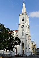 MOZAMBIQUE, Beira, catholic cathedral NOSSA SENHORA DO ROSARIO, historical building from portuguese colonial time  / MOSAMBIK, Beira, Kathedrale NOSSA SENHORA DO ROSARIO der katholischen Kirche