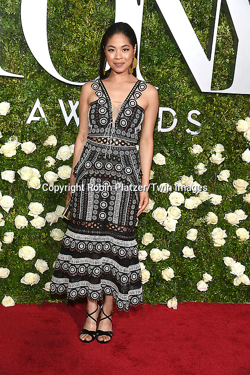 Eva Noblezada attends the 71st Annual  Tony Awards on June 11, 2017 at Radio City Music Hall in New York, New York, USA.<br /> <br /> photo by Robin Platzer/Twin Images<br />  <br /> phone number 212-935-0770