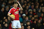 Guillermo Varela of Manchester United - Manchester United vs West Ham United - Barclay's Premier League - Old Trafford - Manchester - 05/12/2015 Pic Philip Oldham/SportImage