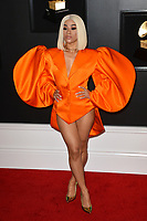 LOS ANGELES, CA - FEBRUARY 10: Hennessy Carolina at the 61st Annual Grammy Awards at the Staples Center in Los Angeles, California on February 10, 2019. Credit: Faye Sadou/MediaPunch
