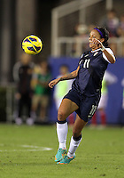 BOCA RATON, FL - DECEMBER 15, 2012: Sydney Leroux (11) of the USA WNT  during an international friendly match against China at FAU Stadium, in Boca Raton, Florida, on Saturday, December 15, 2012. USA won 4-1.