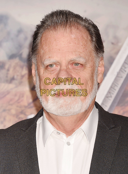 HOLLYWOOD, CA - FEBRUARY 15: Director Taylor Hackford arrives at the premiere of Universal Pictures' 'The Great Wall' at TCL Chinese Theatre IMAX on February 15, 2017 in Hollywood, California.<br /> CAP/ROT/TM<br /> &copy;TM/ROT/Capital Pictures