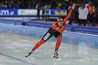 SCHAATSEN: HEERENVEEN: IJsstadion Thialf, 16-11-2012, Essent ISU World Cup, Season 2012-2013, Ladies 500 meter Division A, Jenny Wolf (DUI), ©foto Martin de Jong