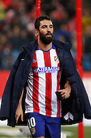 Arda Turan of Atletico de Madrid during La Liga match between Atletico de Madrid and Villarreal at Vicente Calderon stadium in Madrid, Spain. December 14, 2014. (ALTERPHOTOS/Caro Marin) /NortePhoto