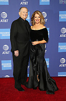 PALM SPRINGS, CA - JANUARY 3: Burt Sugarman, Mary Hart, at the 2019 Palm Springs International Film Festival Awards Gala at the Palm Springs Convention Center in Palm Springs, California on January 3, 2019.       <br /> CAP/MPI/FS<br /> &copy;FS/MPI/Capital Pictures