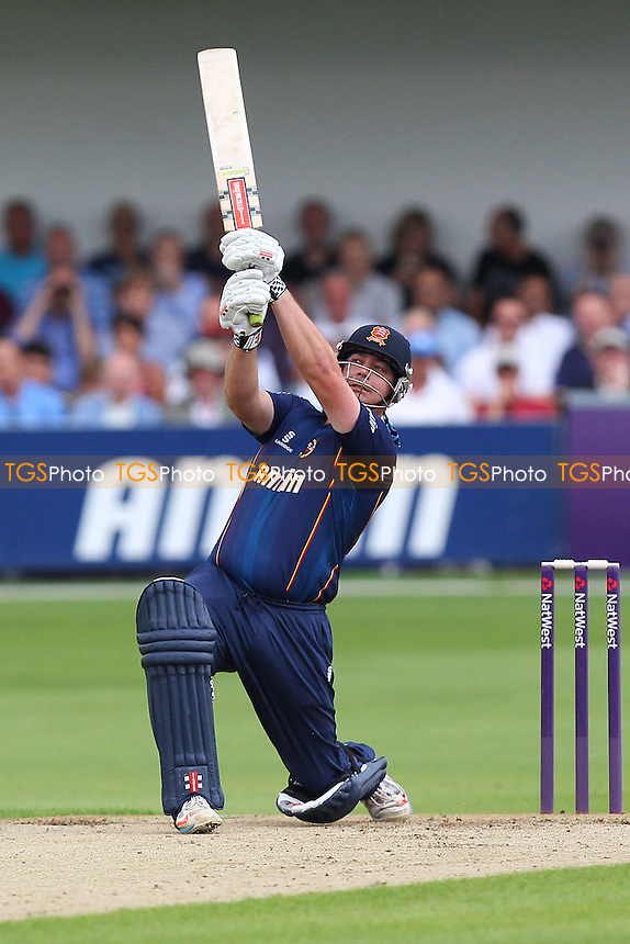 Six runs for Jesse Ryder of Essex - Essex Eagles vs Sussex Sharks - NatWest T20 Blast Cricket at the Essex County Ground, Chelmsford, Essex - 25/07/14 - MANDATORY CREDIT: Gavin Ellis/TGSPHOTO - Self billing applies where appropriate - contact@tgsphoto.co.uk - NO UNPAID USE