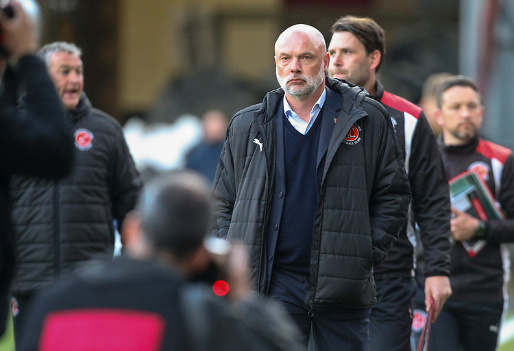 Fleetwood Town manager Uwe Rosler <br /> <br /> Photographer Alex Dodd/CameraSport<br /> <br /> The EFL Sky Bet League One - Play-Off Semi-Final First Leg - Bradford City v Fleetwood Town - Thursday 4th May 2017 - Coral Windows Stadium - Bradford<br /> <br /> World Copyright &copy; 2017 CameraSport. All rights reserved. 43 Linden Ave. Countesthorpe. Leicester. England. LE8 5PG - Tel: +44 (0) 116 277 4147 - admin@camerasport.com - www.camerasport.com