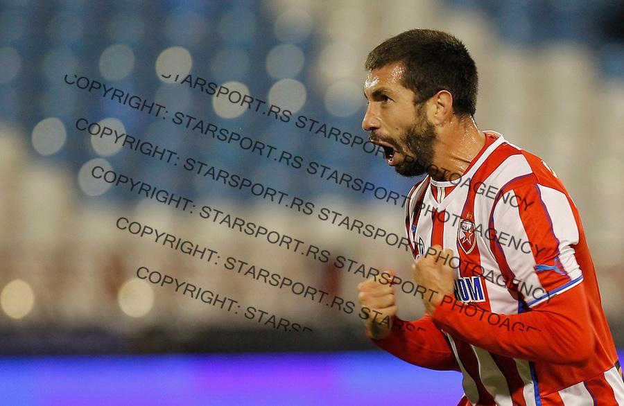 Fudbal Kup Srbije season 2013-2014<br /> Crvena Zvezda v Radnicki (Kragujevac)<br /> Nikola Mijailovic celebrates the goal<br /> Beograd, 30.10.2013.<br /> foto: Srdjan Stevanovic/Starsportphoto &copy;