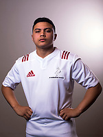 Tane Te Aho. The 2017 New Zealand Schools Barbarians rugby union headshots at the Sport and Rugby Institute in Palmerston North, New Zealand on Monday, 25 September 2017. Photo: Dave Lintott / lintottphoto.co.nz