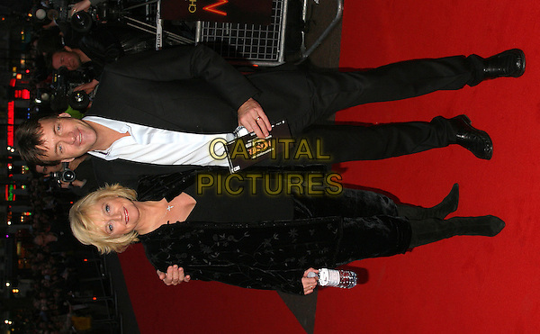 JUDY FINNIGAN & RICHARD MADELEY.Monster UK premiere in Leicester Square.31 March 2004.full length, full-length, Finnegan.www.capitalpictures.com.sales@capitalpictures.com.©Capital Pictures