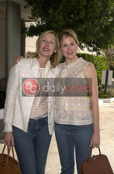 Kelly Rutherford and mother Ann Edwards
