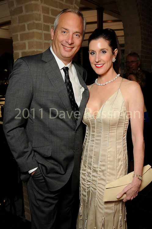 Phoebe and Bobby Tudor at the Dancing with the Houston Stars, a benefit for Houston Ballet, at the home of Becca and John Thrash Tuesday May 10,2011.(Dave Rossman/For the Chronicle)