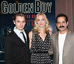 Seth Numrich, Yvonne Strahovski & Tony Shalhoub attending the Meet & Greet for the Lincoln Center Theater's 75th Anniversary Production of 'Golden Boy' at their Rehearsal Studios on 10/25/2012 in New York.