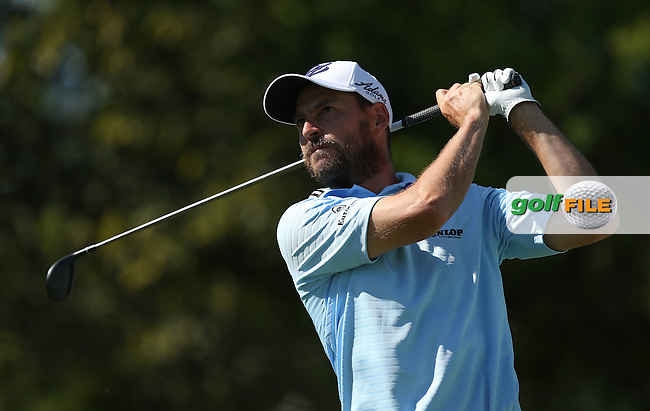 David Howell (ENG) drives to the 17th during Round Two of the Tshwane Open 2015 at the Pretoria Country Club, Waterkloof, Pretoria, South Africa. Picture:  David Lloyd / www.golffile.ie. 13/03/2015