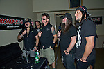 Vinnie Paul, Tom Maxwell, Chad Gray, Greg Tribbett, and Bob Zilla of Hellyeah perform at the Rock Vegas Music Festival at Mandalay Bay in Las Vegas, Nevada.