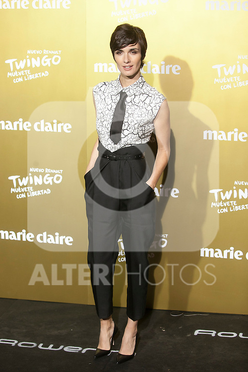 Paz Vega attends Marie Claire awards ceremony in Madrid, Spain. November 19, 2015. (ALTERPHOTOS/Victor Blanco)