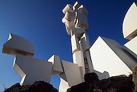 Spanien, Kanarische Inseln, Lanzarote, bei Mozaga, Monumento al Campesino von Cesar Manrique