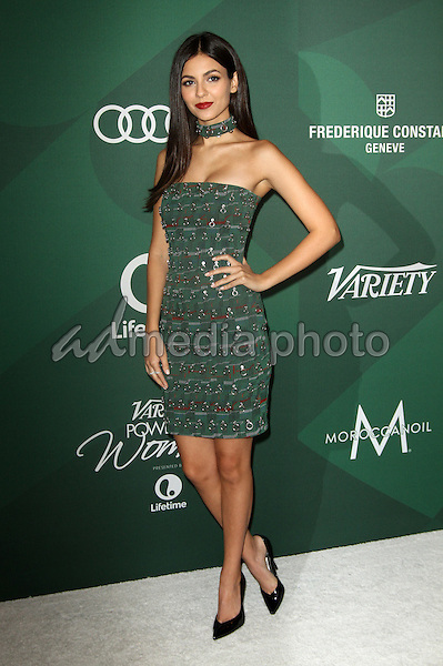14 October 2016 - Beverly Hills, California - Victoria Justice. Variety's Annual Power of Women Luncheon held at the Beverly Wilshire Hotel in Beverly Hills. Photo Credit: AdMedia