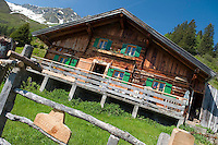 Living on the Duerrstein Alm, Salzburgerland, Austria