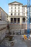 La trasformazione della Città in vista delle Olimpiadi 2006. Costruzione del parcheggio sotterraneo in piazza Vittorio.