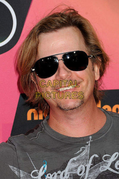 DAVID SPADE .The 23rd Annual Nickelodeon Kids' Choice Awards 2010 held at Pauley Pavilion in Westwood, California, USA..March 27th 2010 .arrivals headshot portrait grey gray sunglasses shades goatee facial hair .CAP/ADM/BP.©Byron Purvis/AdMedia/Capital Pictures.