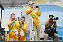 Volunteers, <br /> AUGUST 3, 2016 - Tennis : <br /> Men's Singles Training session <br /> at Olympic Tennis Centre <br /> during the Rio 2016 Olympic Games in Rio de Janeiro, Brazil. <br /> (Photo by Yusuke Nakanishi/AFLO SPORT)
