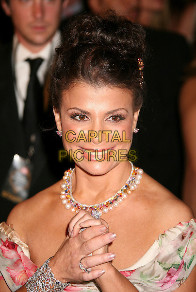 PAULA ABDUL.The TV Guide After Party following the 58th Annual Primetime Emmy Awards, Los Angeles, California, USA..August 27th, 2006.Ref: ADM/BP.headshot portrait necklace.www.capitalpictures.com.sales@capitalpictures.com.©Byron Purvis/AdMedia/Capital Pictures.