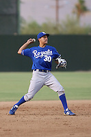 Mike Antonio - AZL Royals - 2010 Arizona League. .Photo by:  Bill Mitchell/Four Seam Images..