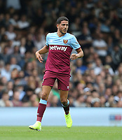 West Ham United's Pablo Fornals<br /> <br /> Photographer Rob Newell/CameraSport<br /> <br /> Football Pre-Season Friendly - Fulham v West Ham United - Saturday July 27th 2019 - Craven Cottage - London<br /> <br /> World Copyright © 2019 CameraSport. All rights reserved. 43 Linden Ave. Countesthorpe. Leicester. England. LE8 5PG - Tel: +44 (0) 116 277 4147 - admin@camerasport.com - www.camerasport.com