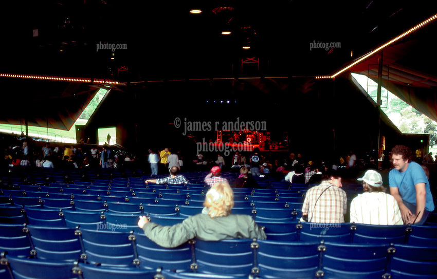 Waiting for the show. Merriweather Post Pavillion 20 June 1983 before the Grateful Dead Concert