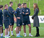 "CATHERINE, DUCHESS OF CAMBRIDGE.chats to members of the English Footbal Squad including Frank Lampard and Wayne Rooney..Katew and Prince William attended the opening of St. George's Park, the Football Association's National Football Centre, Burton-Upon-Trent..Their Royal Highnesses were given a tour of the main facilities on the 330-acre site and also met England Manager Roy Hodgson and his squad as they trained at St. George's Park for the first time_09/10/2012.Mandatory credit photo: ©Dias/NEWSPIX INTERNATIONAL..(Failure to credit will incur a surcharge of 100% of reproduction fees)..                **ALL FEES PAYABLE TO: ""NEWSPIX INTERNATIONAL""**..IMMEDIATE CONFIRMATION OF USAGE REQUIRED:.DiasImages, 31a Chinnery Hill, Bishop's Stortford, ENGLAND CM23 3PS.Tel:+441279 324672  ; Fax: +441279656877.Mobile:  07775681153.e-mail: info@newspixinternational.co.uk"