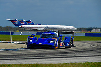 IMSA WeatherTech SportsCar Championship<br /> Sebring February Test<br /> Sebring, Florida, USA<br /> Thursday 22 February 2018<br /> #90 Spirit of Daytona Racing Cadillac DPi, P: Tristan Vautier, Matt McMurry, Eddie Cheever III<br /> World Copyright: Richard Dole<br /> LAT Images