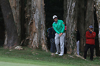 Paul Dunne (IRL) on the 18th during Round 3 of the UBS Hong Kong Open, at Hong Kong golf club, Fanling, Hong Kong. 25/11/2017<br /> Picture: Golffile | Thos Caffrey<br /> <br /> <br /> All photo usage must carry mandatory copyright credit     (&copy; Golffile | Thos Caffrey)