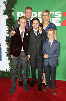 WESTWOOD, CA - NOVEMBER 5: Will Ferrell, Vivica Paulin, Magnus Paulin Ferrell, Mattias Paulin Ferrell and Axel Paulin Ferrell at the premiere of Daddy's Home 2 at the Regency Village Theater in Westwood, California on November 5, 2017. <br /> CAP/MPI/FS<br /> &copy;FS/MPI/Capital Pictures